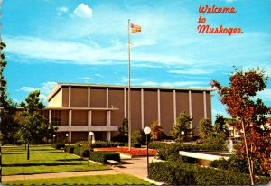 Oklahoma Muskogee Welcome Showing Civic Center