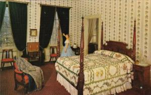 Pennsylvania Lancaster The Master Bedroom At Wheatland Home Of James Buchanan...