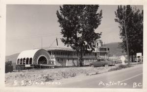 RP: C.P.R. Steamer S.S. SICAMOUS , Penticton , B.C. ,Canada , 20-40s