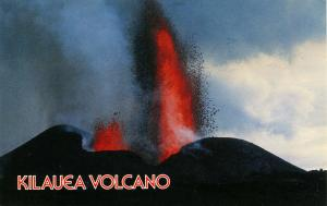 HI - Kilauea Volcano Eruption, 1983