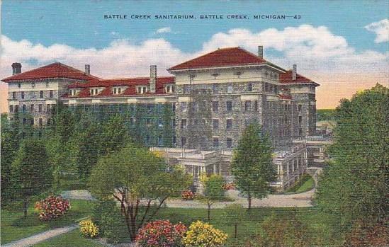Michigan Battl Creek Sanitarium