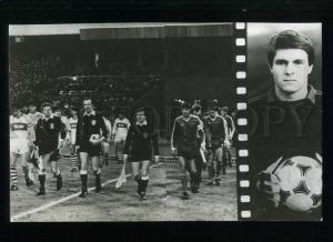 208192 USSR Dynamo Kiev football team Mykhaylo Mykhaylov  card