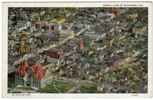 Aerial View Of Richmond, Ind.