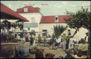 cabo verde, SÃO VICENTE, Mercado, Native Market (1919)