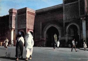 Morocco Meknes Bab El Mansour Promenade