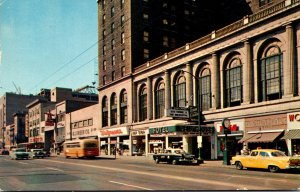 Ohio Columbus High Street Looking South Showing The Neil House Hotel 1960