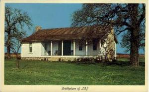 Birthplace Of Lyndon B. Jonson Stonewall TX Unused