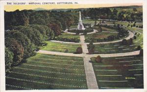 GETTYSBURG, Pennsylvania, PU-1936; The Soldiers' National Cemetery