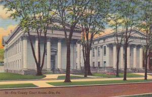 Exterior, Erie County Court House, Erie, Pennsylvania,30-40s