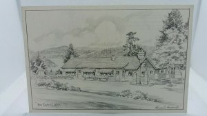Vintage Postcard The Dutch Latch Sketch by Edward Goodall Vancouver Island