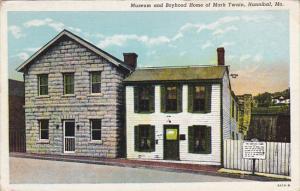 Missouri Hannibal Mark Twain Museum and Boyhood Home Curteich