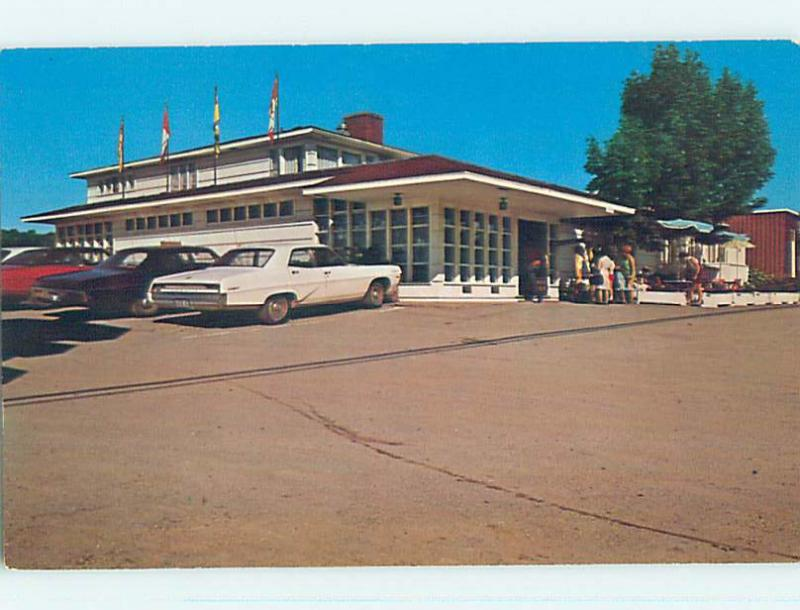 Unused Pre-1980 MAGNETIC HILL INN MOTEL Moncton New Brunswick NB o0416-12