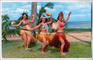 Tahitian Dancers, Kodak Hula Show