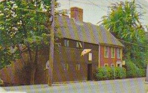 Massachusetts Plymouth The Richand Sparrow House
