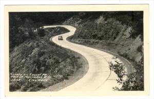 RP, Curves On Laurel Mt., West Of Macomber, West Virginia, 1930-1950s