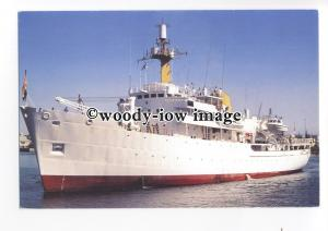 cd0386 - South African Navy Research Ship - Protea , built 1973 - postcard
