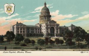 AUSTIN , Texas, 1900-10s ; State Capitol