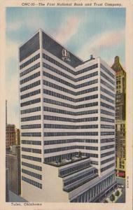 Oklahoma Tulsa First National Bank & Trust Company Curteich