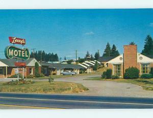 Unused Pre-1980 OLD CARS & LARRY'S MOTEL Vancouver Washington WA u6687-22