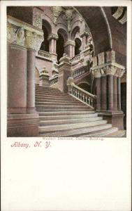 Albany Western Staircase Capitol Building New York