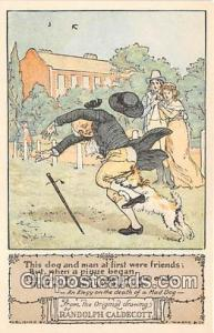 Randolph Caldecott's Pictures Elegy on the Death of a Mad Dog