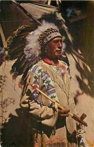 Native American Indian, Chief Running Horse, hs No. HSC-26