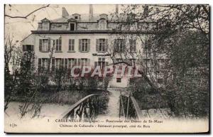 Old Postcard Callenelle Boarding Ladies of St Maur Chateau Callenelle Main Bu...