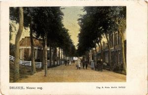 CPA DELFZIJL Nieuwe weg NETHERLANDS (604065)