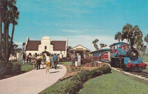 Busch Gardens, Trans-Veldt Miniature Railroad Train, Tampa, Florida, 1940-1960s