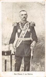 Rei Pedro I da Servia, Peter I of Serbia