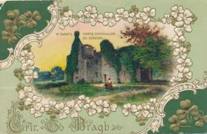 St Patrick's Day Greetings M'Swine's Castle Rathmullan Co Donegal Ireland pm1912