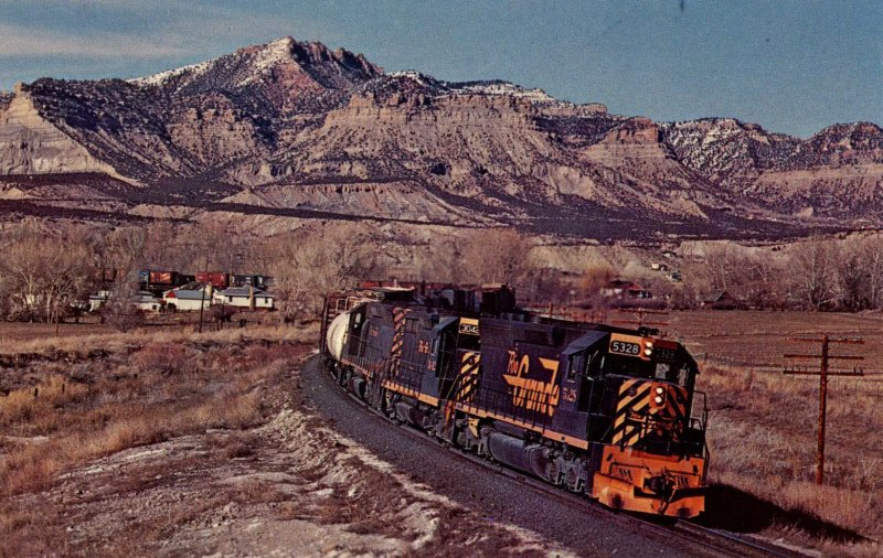 Trains -  Rio Grande #5328   (audio visual series)