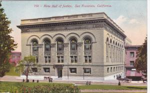 SAN FRANCISCO, California, 1900-1910´s; New Hall Of Justice