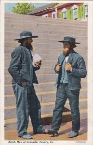 Pennsylvania Lancaster AQmish Men Of Lancaster County