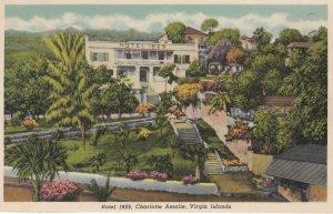 Charlotte Amalie , Virgin Islands , 1930-40s ; Hotel 1829