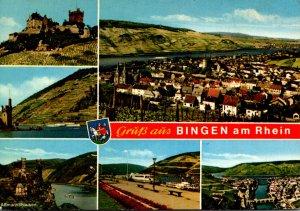 Germany Bingen Gruss Aus With Multi View