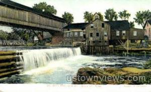 Old Green River Grist Mill Greenfield MA Unused