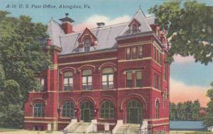 Virginia Abingdon U S Post Office