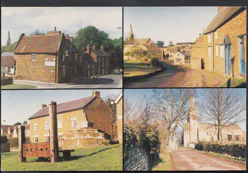 Northamptonshire Postcard - Views of Brixworth   MB2387