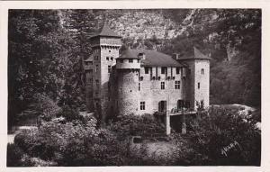 France Gorges du Tarn Le Chateau de la Caze Real Photo