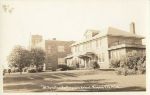 RP: ROGERS  , Michigan , 1930-40s ; St. Ignatus Rectorr & School