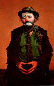 Emmett Kelly As Weary Willie World Famous Clown