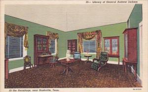 Library Of General Andrew Jackson At The Hermitage Nashville Tennessee