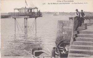 SAINT MALO, Ille Et Vilaine, France, 1900-1910's; Cote D'emeraude, Le Pont Ro...
