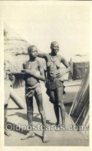 Egypt African Nude Nudes Postcard Post Card  Egypt
