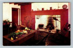 Pottstown PA- Pennsylvania, Pottsgrove, John Potts Historic Home,Chrome Postcard