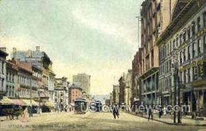 Genesee Street Utica NY 1908