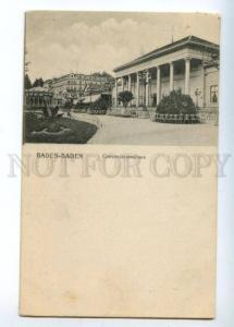 151750 GERMANY BADEN-BADEN Conversationshaus Vintage PC