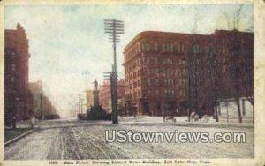 Main Street, Deseret News Bldg - Salt Lake City, Utah