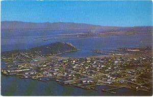 Air View of Anacortes Washington WN
